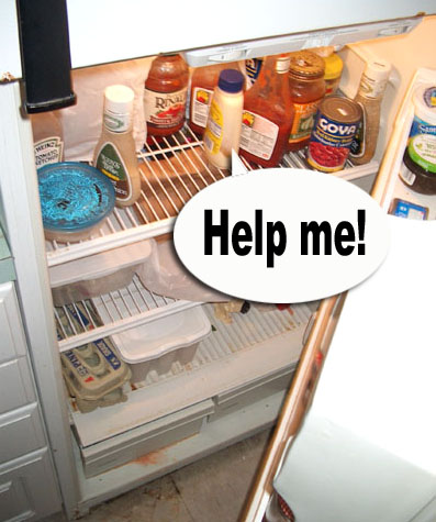 Dirty Fridge Clipart