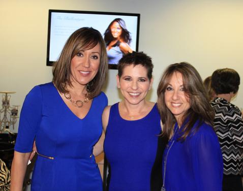 With WBTV anchor Maureen O'Boyle and National Sales Director of Living Fresh Collection Randi Farina