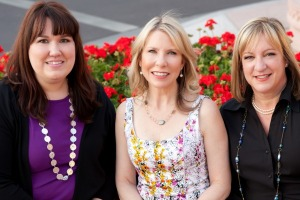 Generation Fabulous founders Anne Parris, Chloe Jeffreys and Sharon Greenthal
