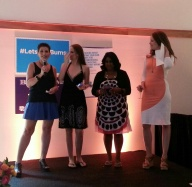 Presenting the Freshest Blog Award at Social Luxe