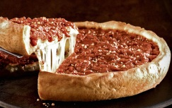 The Deep Dish Pizza at Giordanos