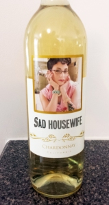 Sad housewife